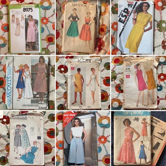 Vintage Sewing Pattern Bundle